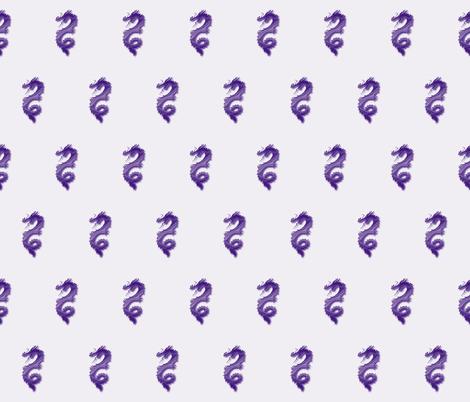 Grape Dragon, S fabric by animotaxis on Spoonflower - custom fabric