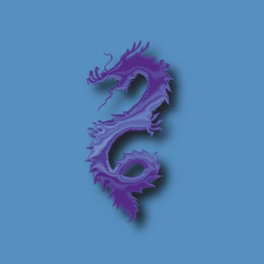 Purple-Blue Dragon, L