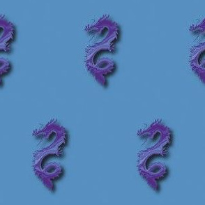 Purple-Blue Dragon, S
