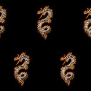 Polished Metal Dragon, S