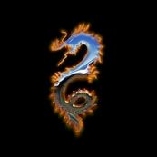 Fiery Metal Dragon, S