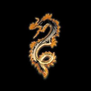 Copper Bronze Dragon, L