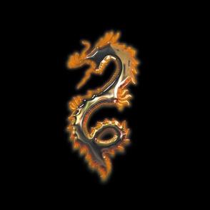 Fiery Bronze Dragon, L