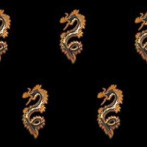 Fiery Bronze Dragon, S