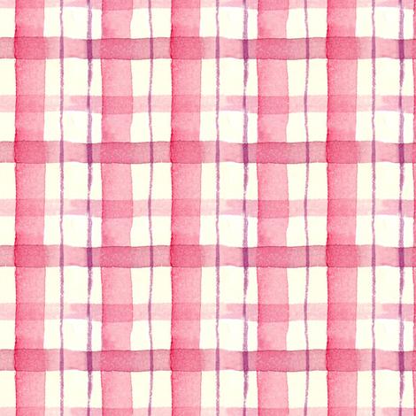 Mauve Plaid fabric by countrygarden on Spoonflower - custom fabric