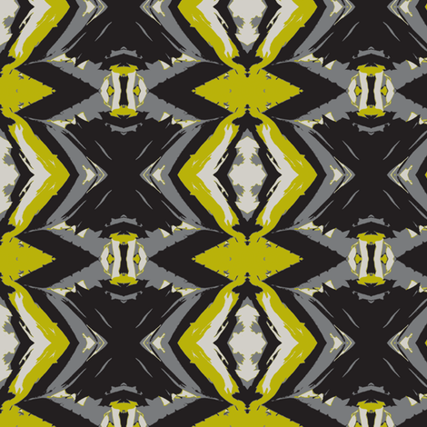 Three Peas in a Pod fabric by susaninparis on Spoonflower - custom fabric