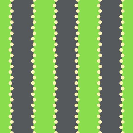 Summer Breeze - Mint Sprinkles fabric by doodletrain on Spoonflower - custom fabric