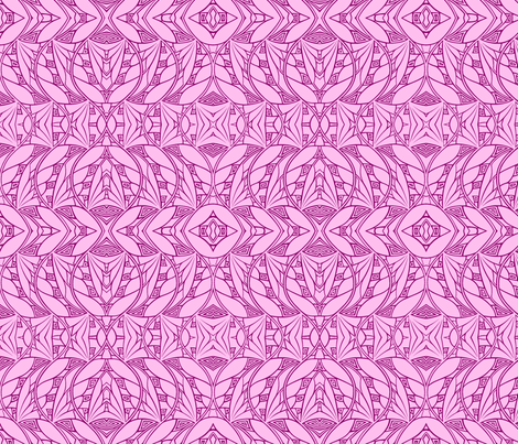 Dark & Light (soft pink) fabric by relative_of_otis on Spoonflower - custom fabric