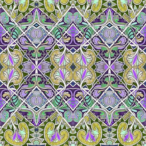 King Arthur's Tablecloth fabric by edsel2084 on Spoonflower - custom fabric
