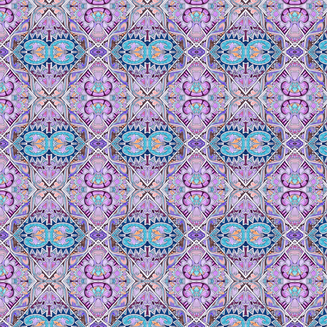1880's Revival in Lavender fabric by edsel2084 on Spoonflower - custom fabric