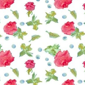 Rosebuds and Dots