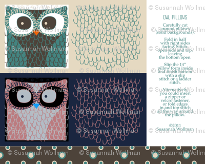owl__pillows