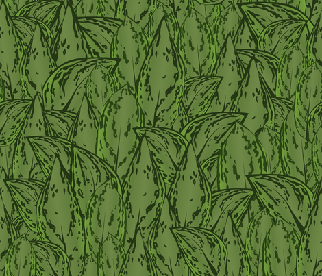 Evergreen2011 fabric by nikky on Spoonflower - custom fabric