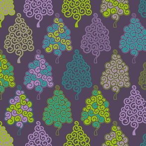 Evergreen, everblue, everpurple