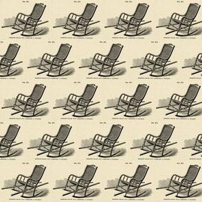 Civil War Era Medical illustration of chair