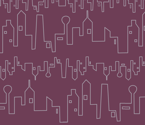City Rhythm fabric by lowa84 on Spoonflower - custom fabric