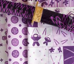 Super Purple Flower Dots!