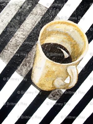 Coffee on Black & White