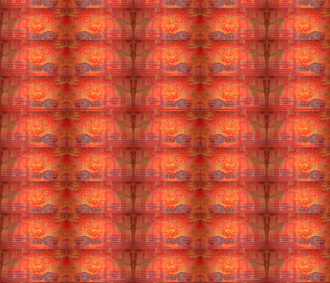 PickMe-Orange fabric by kkitwana on Spoonflower - custom fabric