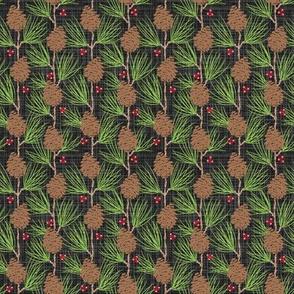Whispy Pines - Black