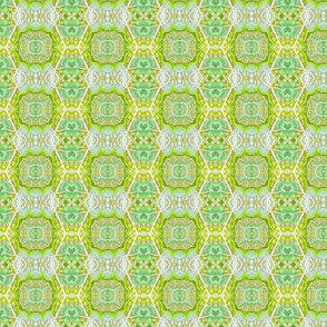Going Green (zig zag hexagonal vertical stripe)