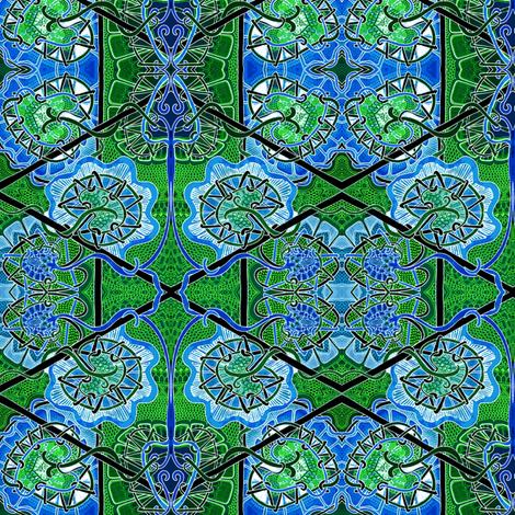 Seed Pod Batik fabric by edsel2084 on Spoonflower - custom fabric