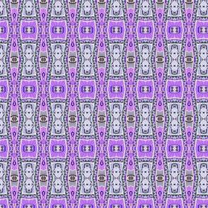 Retro Fifties Purple Vertical Stripe