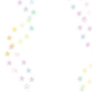 Rainbow Pastel - Star DNA  -  © PinkSodaPop 4ComputerHeaven.com