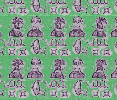 SlaveryMASK_Green fabric by kkitwana on Spoonflower - custom fabric