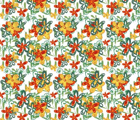 doodledidoo_vermundesigns fabric by jodysart on Spoonflower - custom fabric