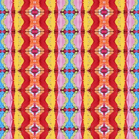 Rainbow stripes fabric by glennis on Spoonflower - custom fabric