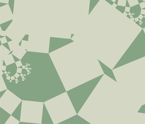 Pythagoras Microscope (two tone) fabric by candyjoyce on Spoonflower - custom fabric