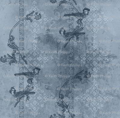 Steampunk Love Birds - Rainclouds