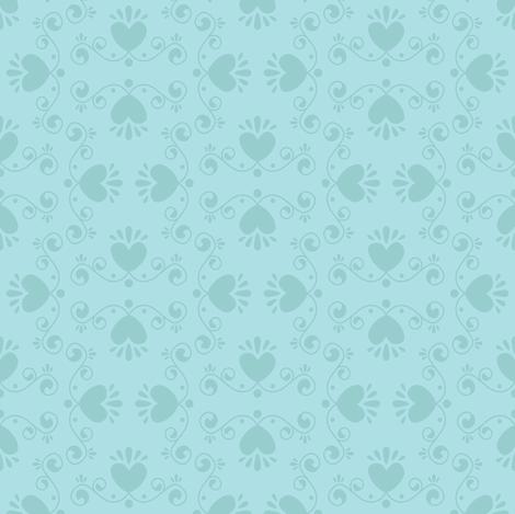 Czech Motif (Dark Blue) fabric by robyriker on Spoonflower - custom fabric