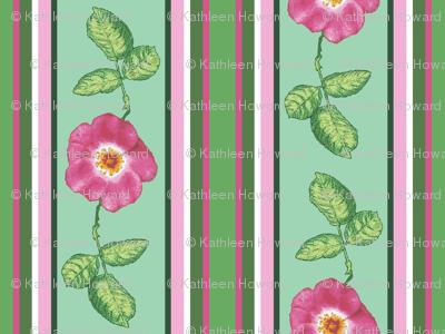 Rose_stripe_alternating_single_repeat