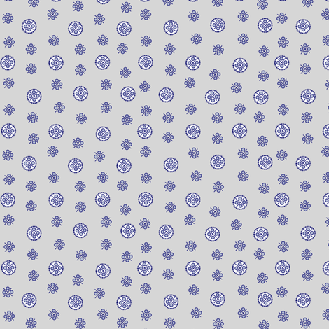 delft_dots2 fabric by glimmericks on Spoonflower - custom fabric