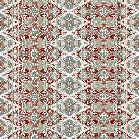 Star of David's Older Brother (color 2) fabric by edsel2084 on Spoonflower - custom fabric