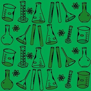 Chemistry Lab Green