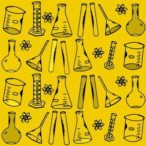 Chemistry Lab Yellow