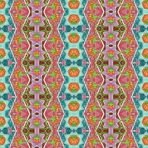 Colorful Vertical Zig Zag Stripe