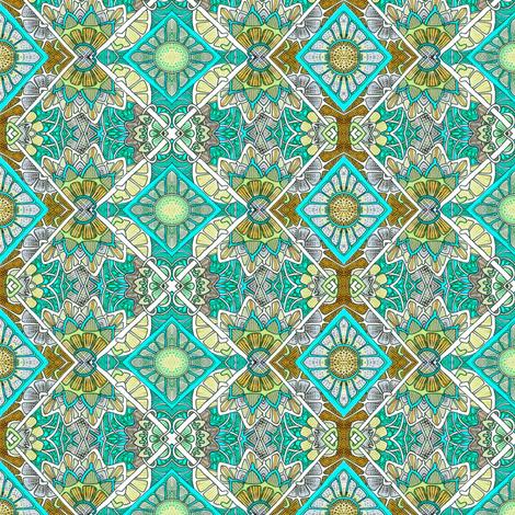 Jade Glade fabric by edsel2084 on Spoonflower - custom fabric