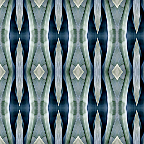Blue Agave-ed fabric by glennis on Spoonflower - custom fabric