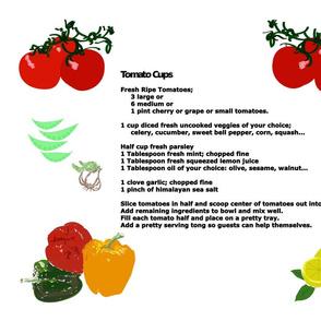 Recipe Tomato Cups