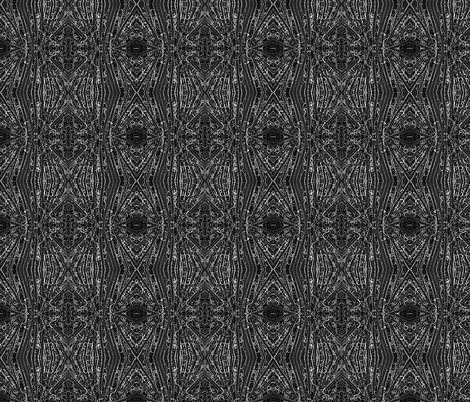 Black and White Yucca-ed fabric by glennis on Spoonflower - custom fabric