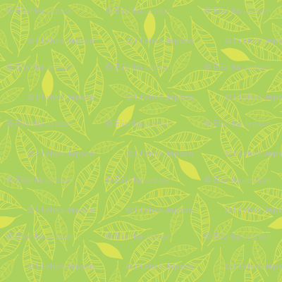 Bouquet Leaves (green)
