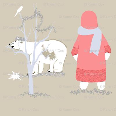 Northern LIghts and Polar Bears light
