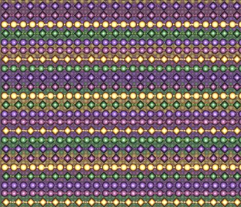 brick_mardi_gras_beads_mesh_yard fabric by pd_frasure on Spoonflower - custom fabric
