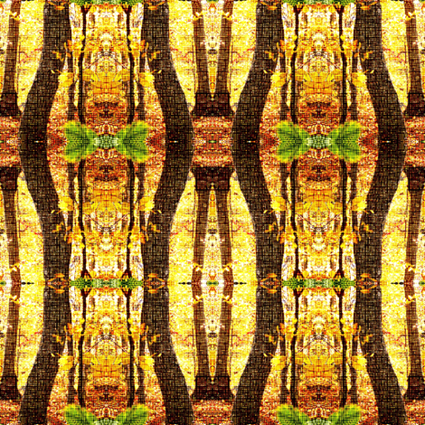 woven forest fabric by keweenawchris on Spoonflower - custom fabric