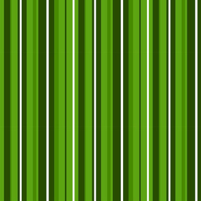 Candy Cane Stripes - Green and White