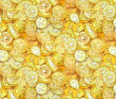 Citric acid fabric by nalo_hopkinson on Spoonflower - custom fabric
